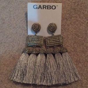 Garbo tassel earrings